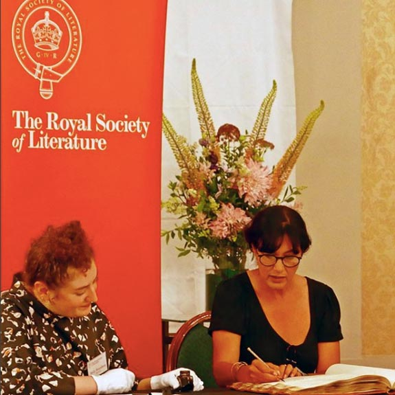 Polly Samson has been made a Fellow of the Royal Society of Literature